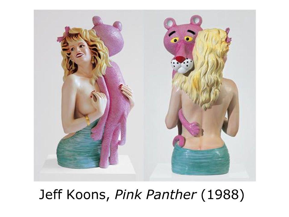 Jeff Koons, Pink Panther (1988)