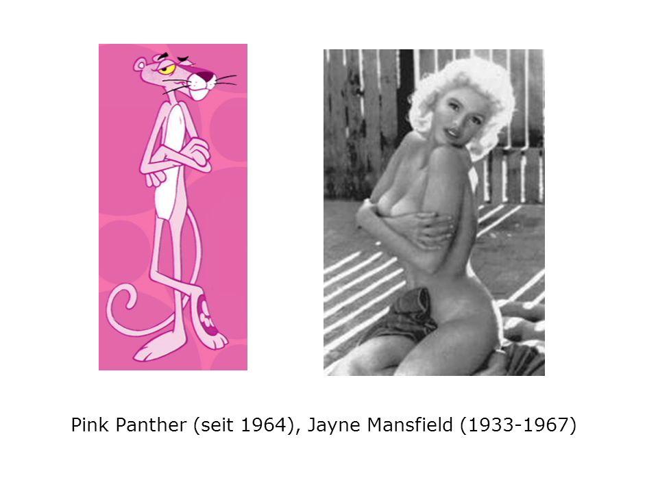 Pink Panther (seit 1964), Jayne Mansfield (1933-1967)