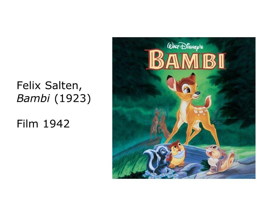 Felix Salten, Bambi (1923) Film 1942