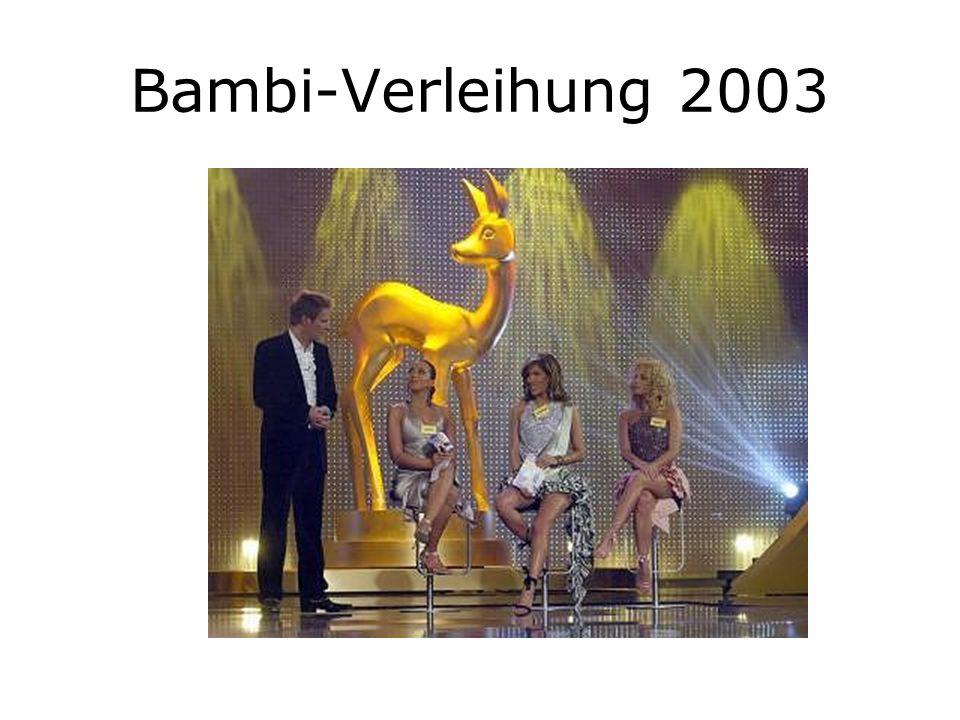 Bambi-Verleihung 2003