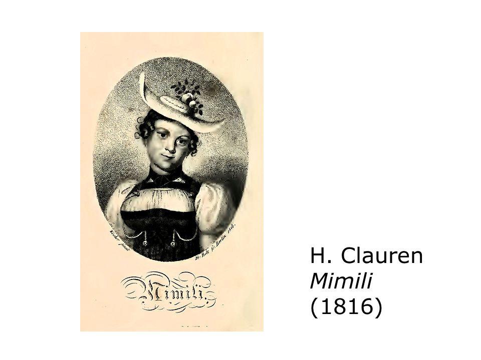 H. Clauren Mimili (1816)