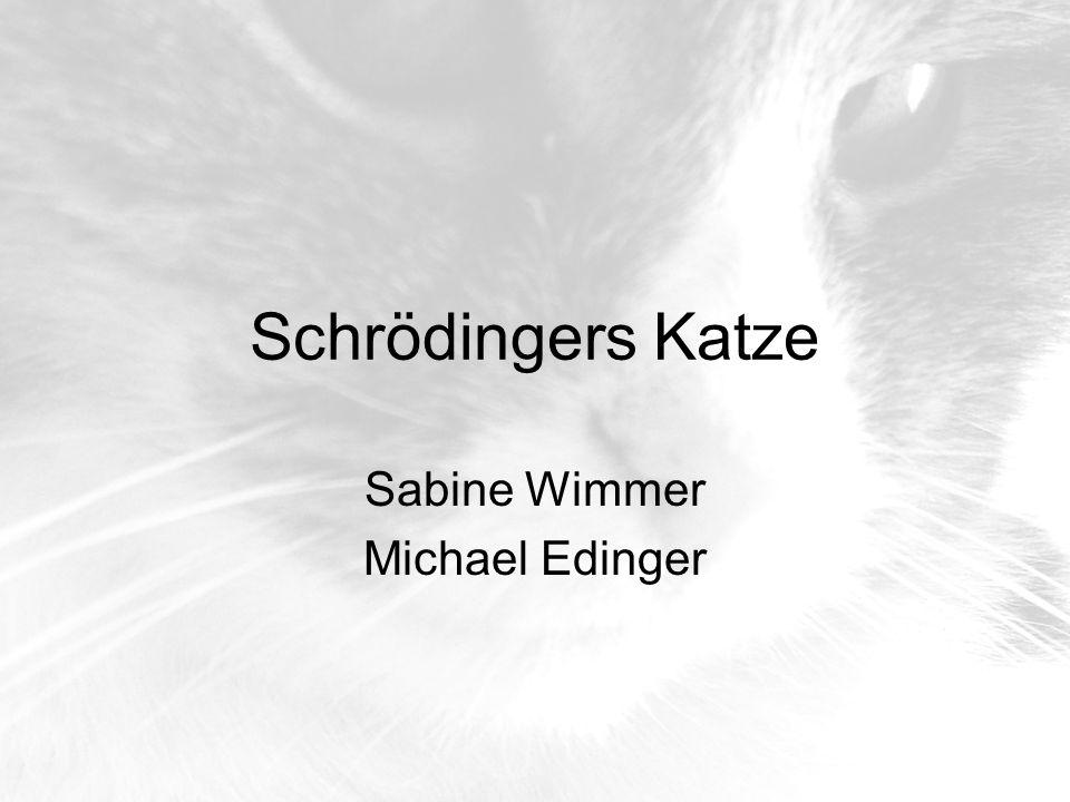 Schrödingers Katze Sabine Wimmer Michael Edinger