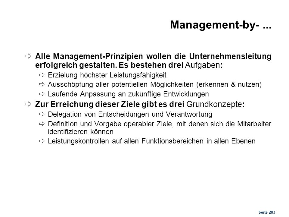 Seite 283 Management-by-...