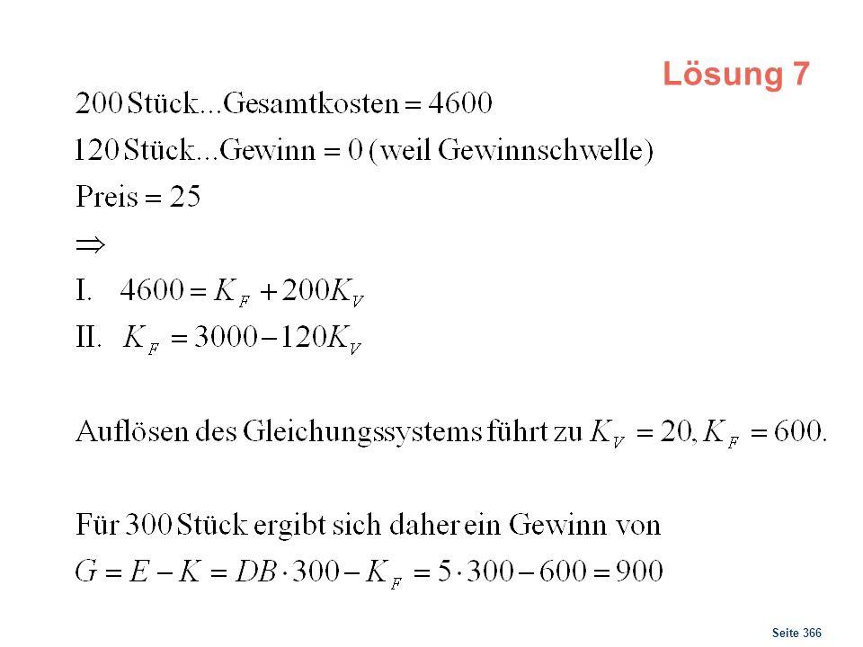 Seite 366 Lösung 7