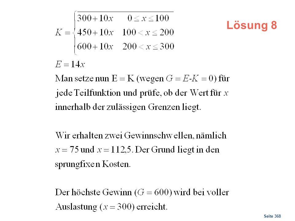 Seite 368 Lösung 8