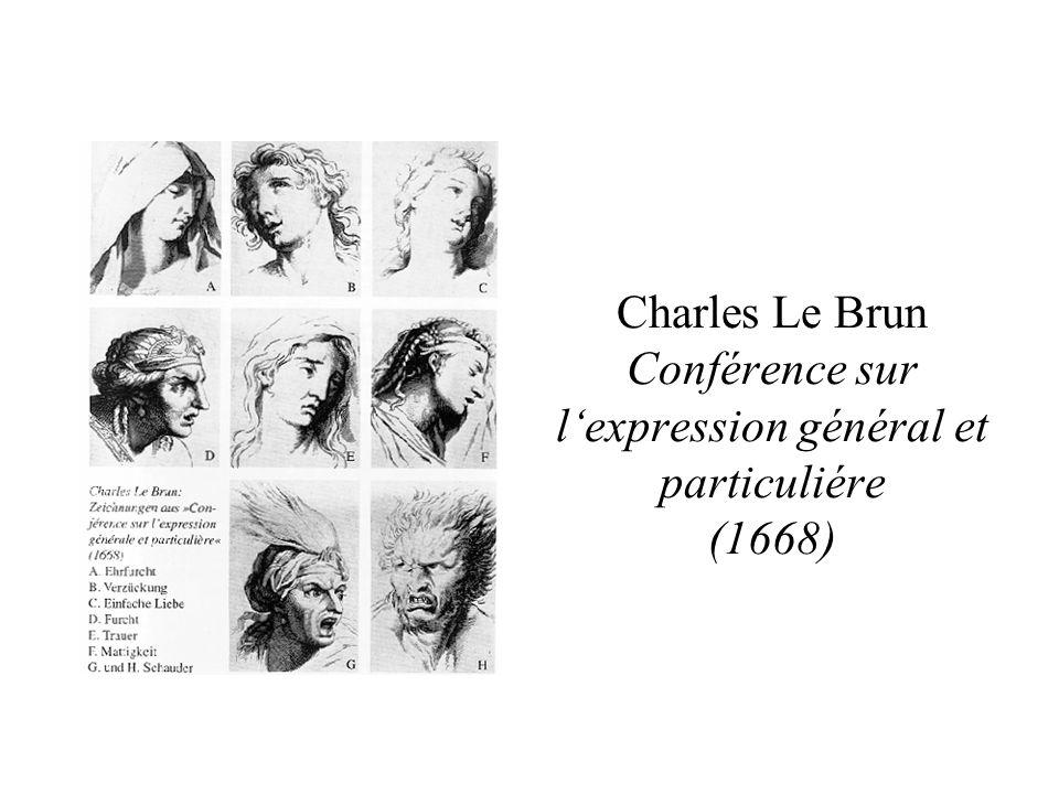 Charles Le Brun Conférence sur lexpression général et particuliére (1668)