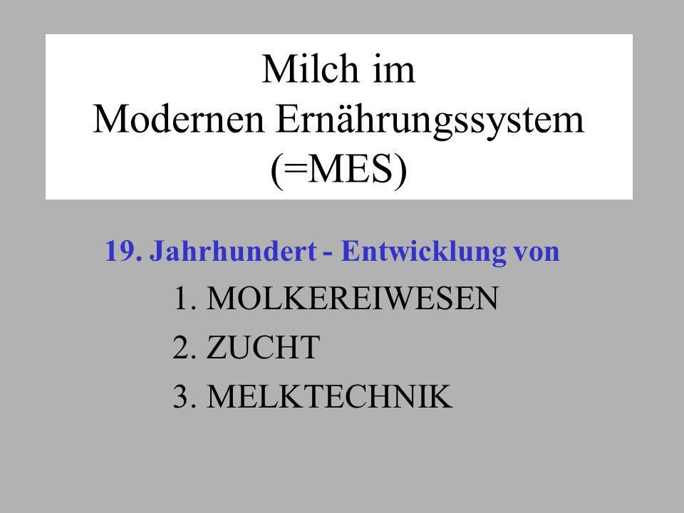 Milch im Modernen Ernährungssystem (=MES) 19.