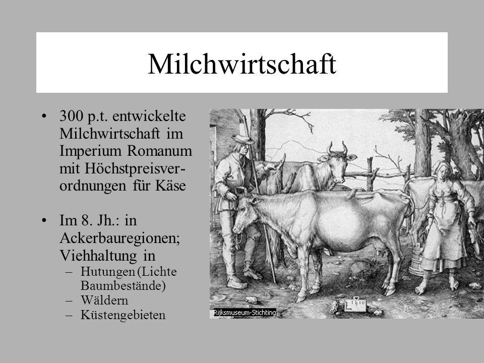Milchwirtschaft 300 p.t.