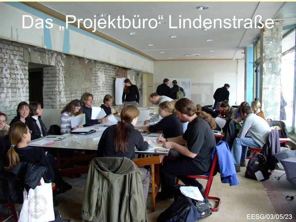 Das Projektbüro Lindenstraße EESG/03/05/23