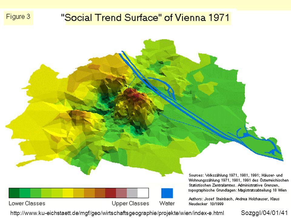 Wien soziale Trendoberfläche 1971 SozggI/04/01/41 http://www.ku-eichstaett.de/mgf/geo/wirtschaftsgeographie/projekte/wien/index-e.html