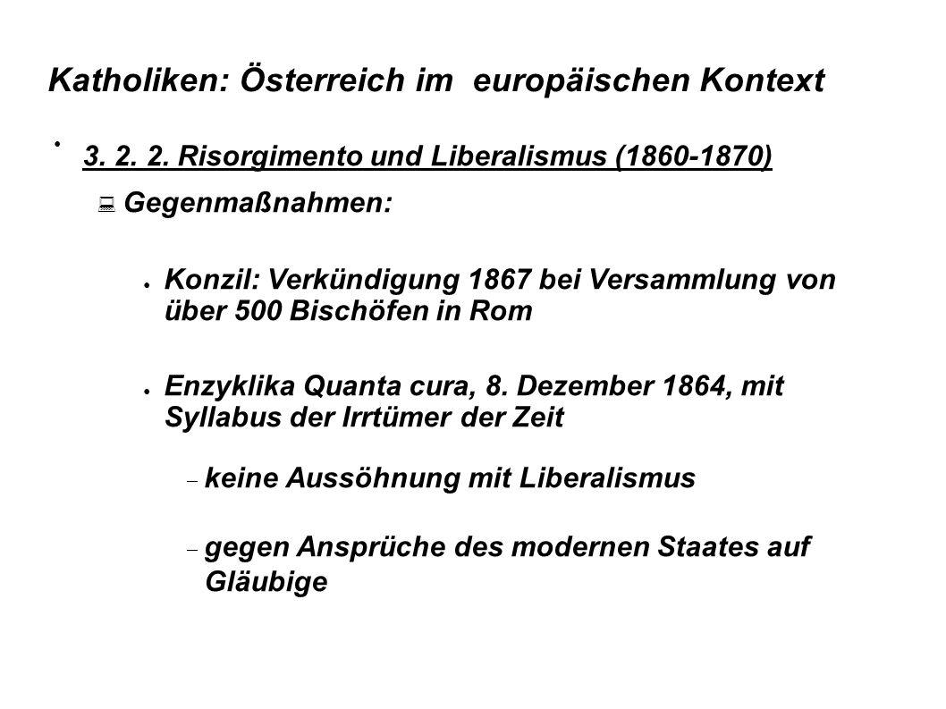Katholiken: Österreich im europäischen Kontext Cole, Laurence, The Counter-Reformation s last stand: Austria, in: Clark/Kaiser (Hg.) Culture wars, S.