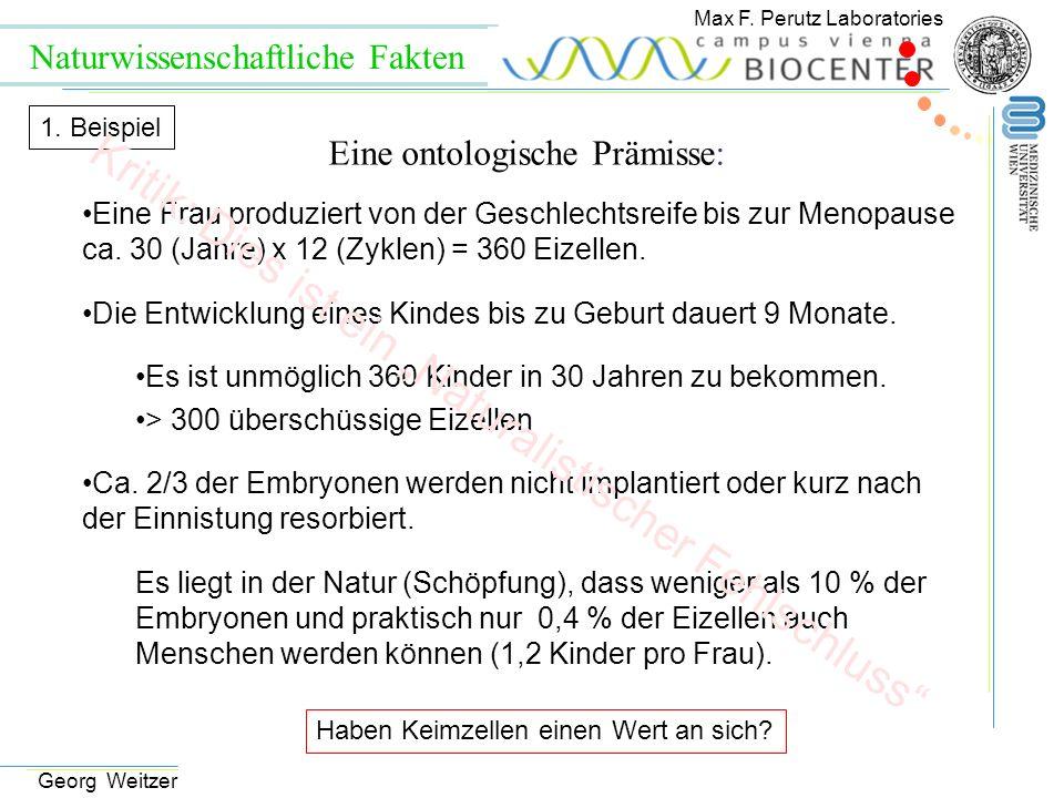 Eine Frau produziert von der Geschlechtsreife bis zur Menopause ca. 30 (Jahre) x 12 (Zyklen) = 360 Eizellen. Die Entwicklung eines Kindes bis zu Gebur