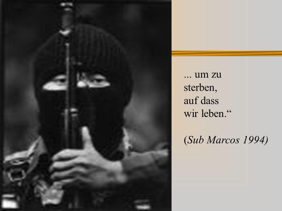 ... um zu sterben, auf dass wir leben. (Sub Marcos 1994)
