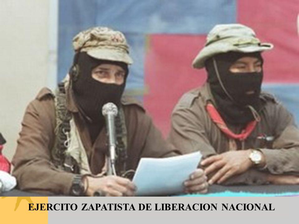 EJERCITO ZAPATISTA DE LIBERACION NACIONAL