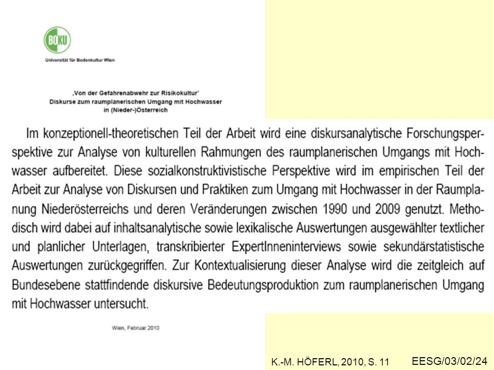 EESG/03/02/24 K.-M. HÖFERL, 2010, S. 11
