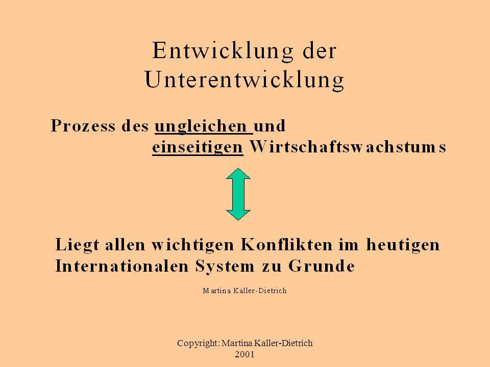 Copyright: Martina Kaller-Dietrich 2001 Skeptiker und Gegner von Entwicklung 1.