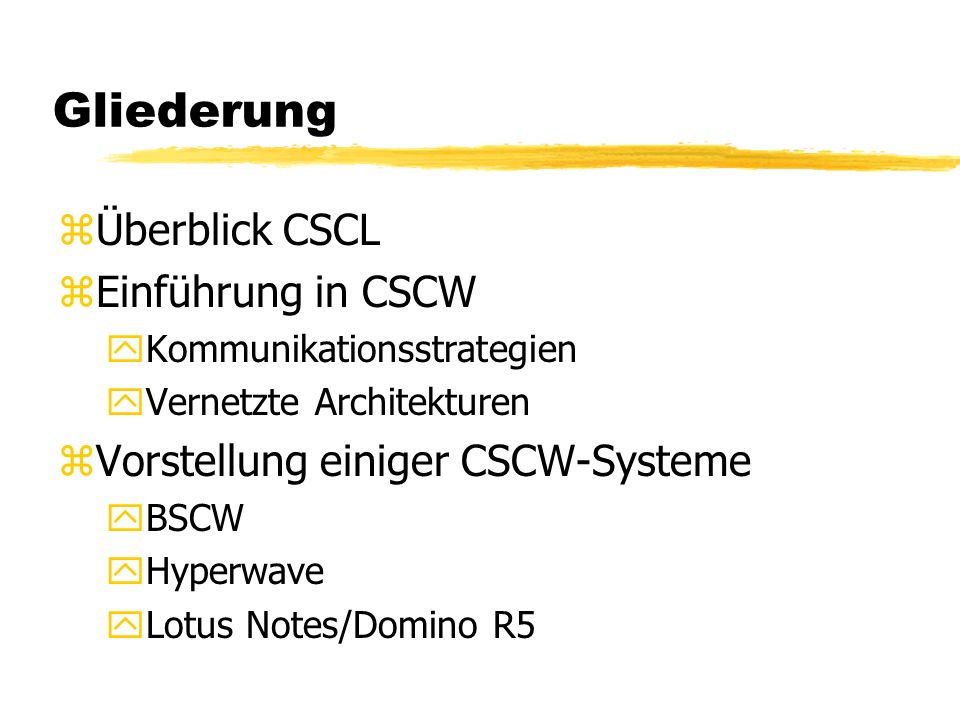 CSCL: Überblick z Computer Supported Collaborative Learning (dt.