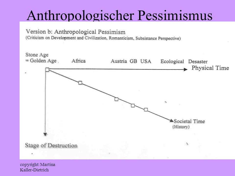 copyright: Martina Kaller-Dietrich Anthropologischer Pessimismus