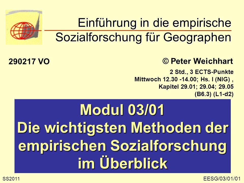 EESG/03/01/12 Soziometrie Soziometrie ist...