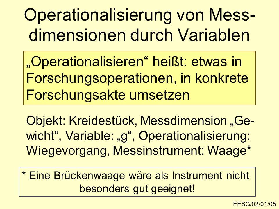 EESG/02/01/26 WSP: Präferenzen, 1. Halbgruppe