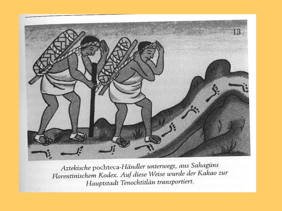 Das Kakaogetränk wurde in präkolumbischer Zeit kalt genossen.