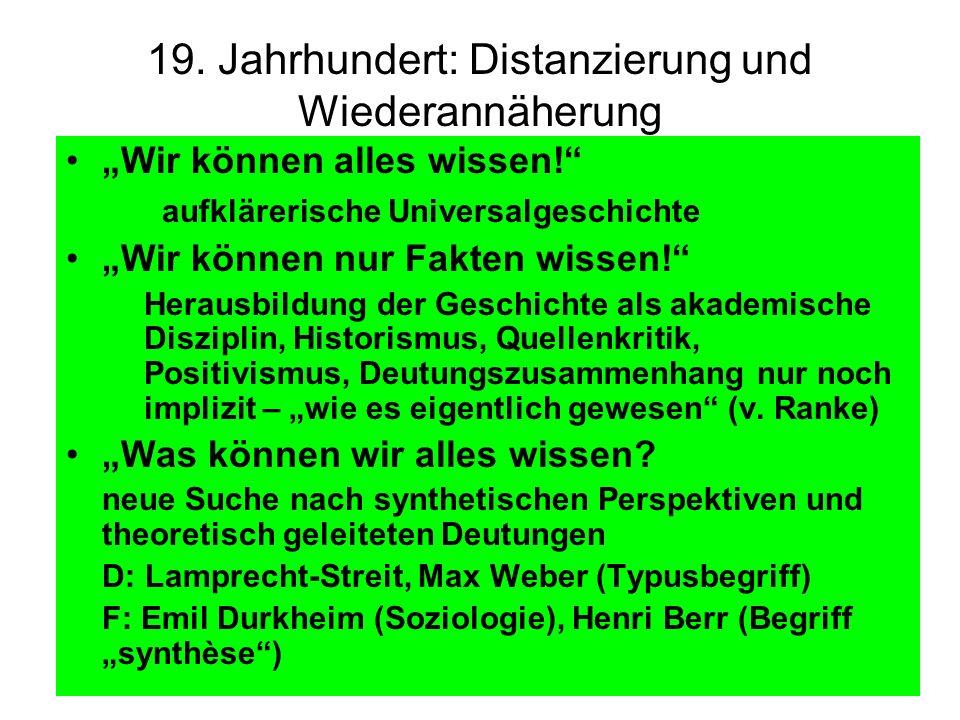 Universalhistorische Konjunkturen nach 1945 -> Konkurrenz der Blöcke: Modernisierungstheorie vs.