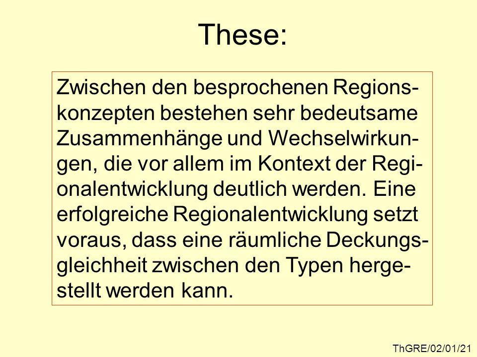 Ein Modell des Salzburger Zentralraumes als Nodalregion ThGRE/02/01/22