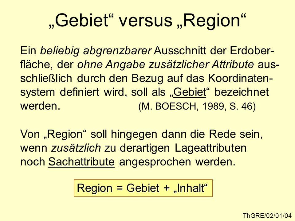 ThGRE/02/01/05 Bedeutungsvarianten des Begriffs Region