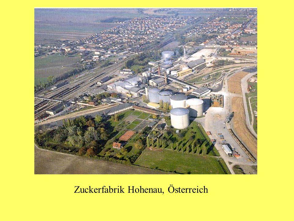 Zuckerfabrik Hohenau, Österreich
