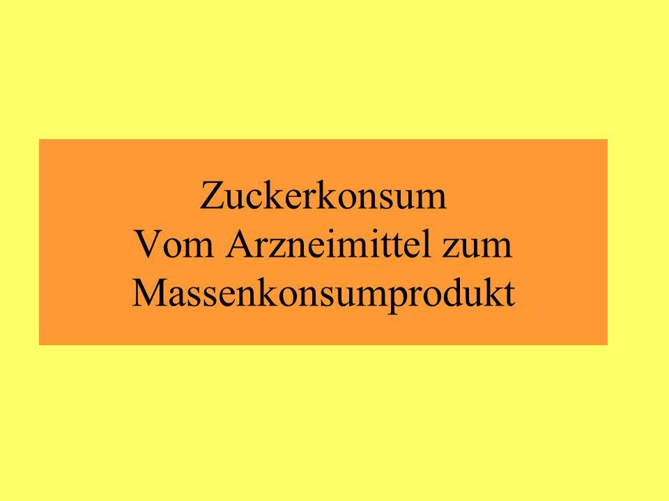 - Der deutsche Chemiker Andreas Sigismund Marggraf entdeckte 1747 den hohen Zuckergehalt in einer heimischen Pflanze, der Rübe.
