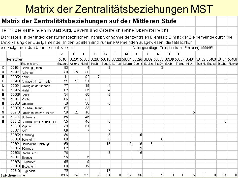 EWigg04/03/30 Matrix der Zentralitätsbeziehungen MST