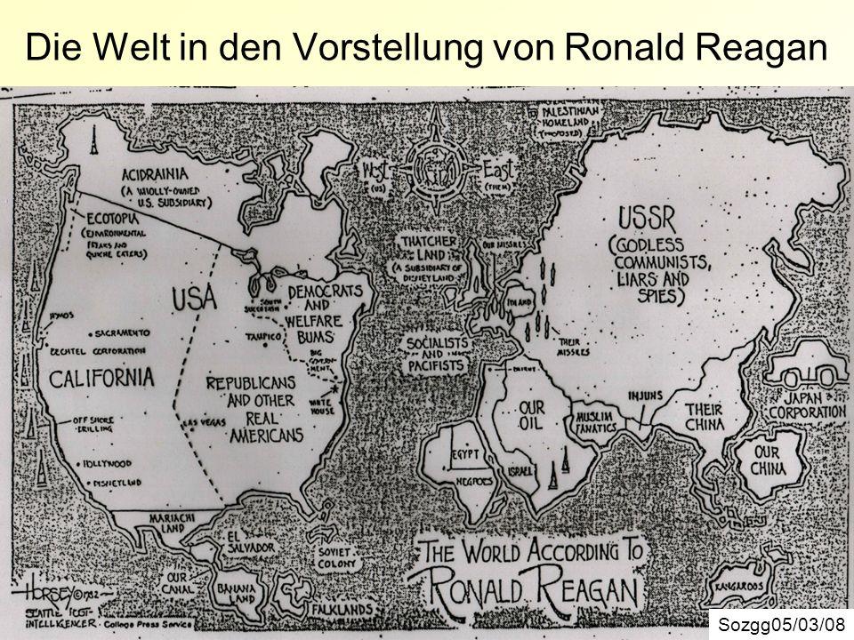 Die Welt in den Vorstellung von Ronald Reagan Sozgg05/03/08