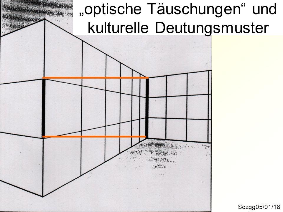 Sozgg05/01/18 optische Täuschungen und kulturelle Deutungsmuster