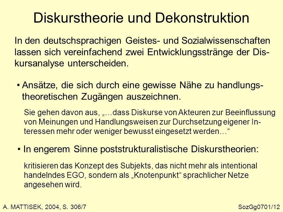 Der Cultural Turn in der Geographie Ausdrückliche Gegenposition zur traditionellen Kulturgeo- graphie (Konzentration auf Artefakte).