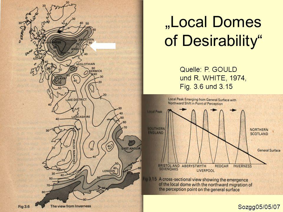 Sozgg05/05/07 Quelle: P. GOULD und R. WHITE, 1974, Fig. 3.6 und 3.15