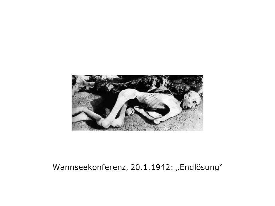 Wannseekonferenz, 20.1.1942: Endlösung