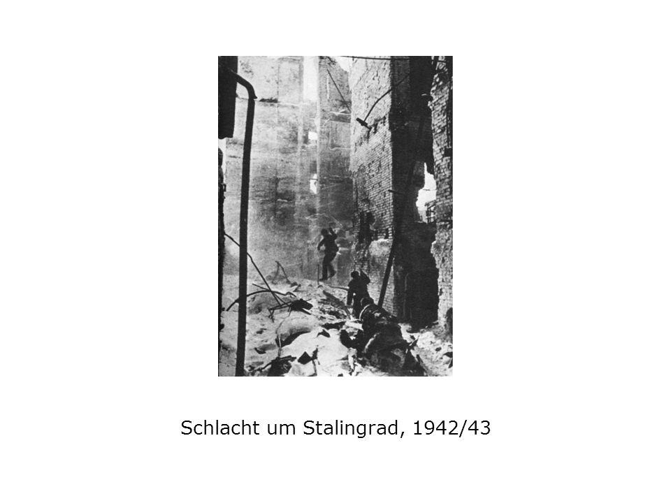 Schlacht um Stalingrad, 1942/43