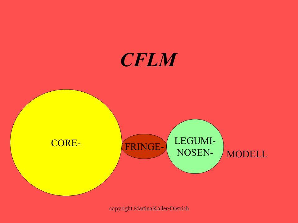 copyright.Martina Kaller-Dietrich LEGUMI- NOSEN- CORE- FRINGE- MODELL CFLM