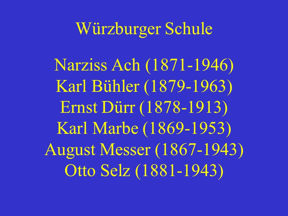 Narziss Ach (1871-1946)