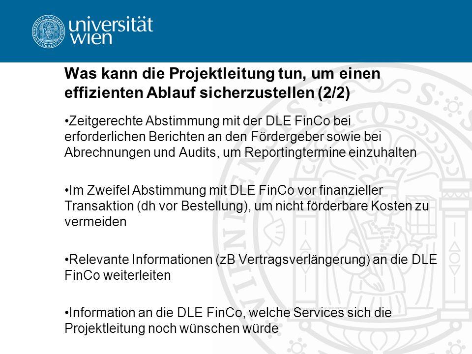 Ansprechpersonen §26-Projekte Eva Schrammel (DW 12540) Petra Pollak (DW 12559) §27-Projekte Mag.