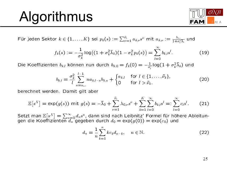 25 Algorithmus