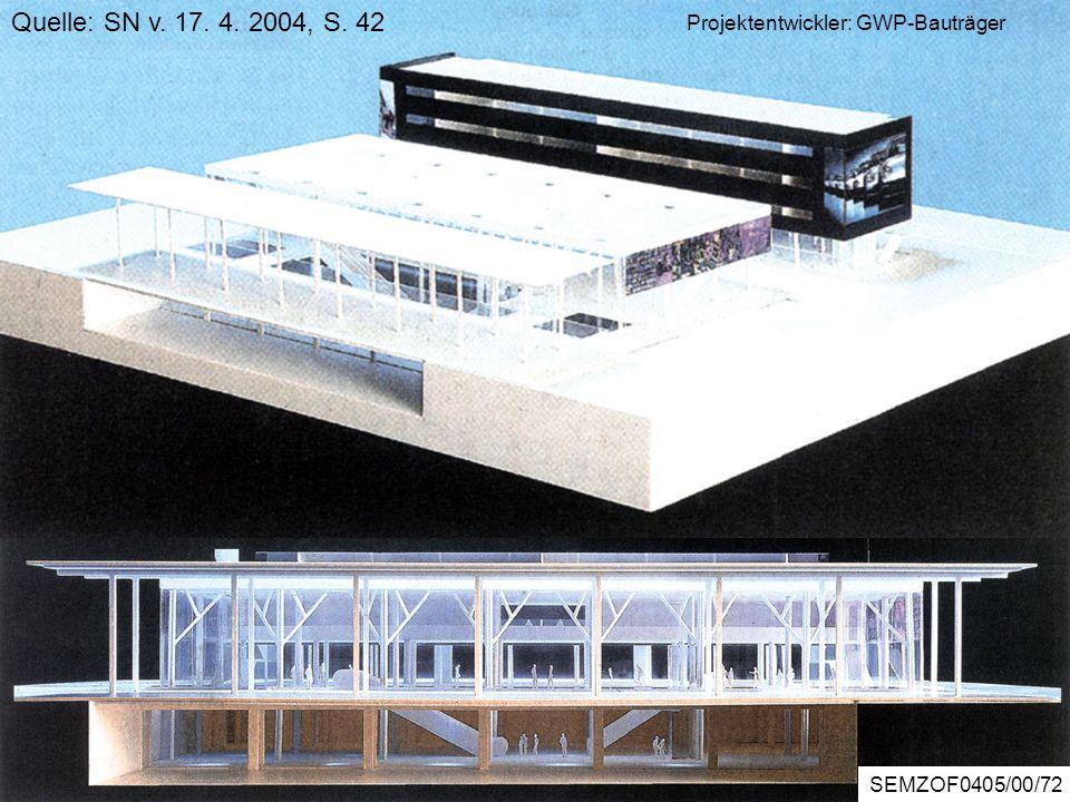 ZOREBericht5/2/56 Bürocenter Wals Quelle: SN v. 17. 4. 2004, S. 42 Projektentwickler: GWP-Bauträger SEMZOF0405/00/72