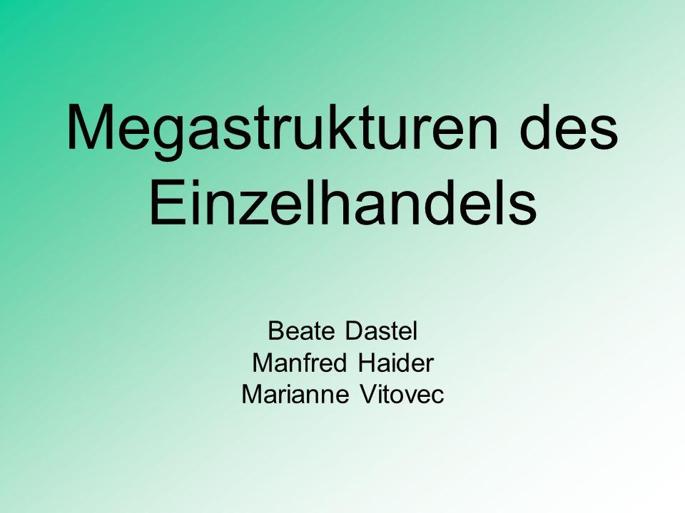 Interne Veränderungen IV Beispiel Lebensmitteleinzelhandel Ö: REWE Austria (Billa, Merkur, Mondo, Emma): Marktanteil: 35,5 % SPAR AG Marktanteil: 31,3 % ADEG AG Marktanteil: 12 % ZEV-Markant (Pfeiffer, Wedl, Hornit....) Marktanteil: 8,8 % ZIELPUNKT: Marktanteil: 5,9 % Trend zu Diskontern (Bsp.
