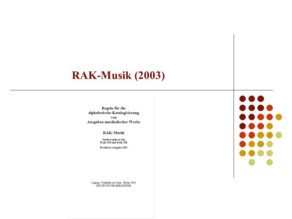 RAK-Musik (2003)