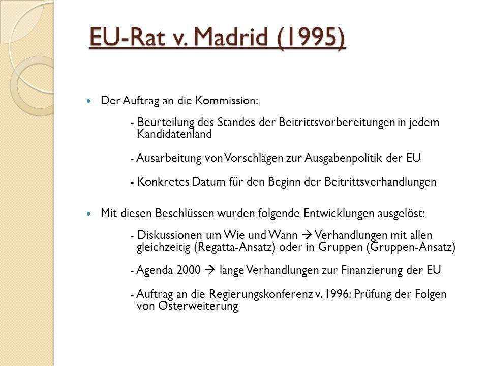 EU-Rat v.Madrid (1995) EU-Rat v.