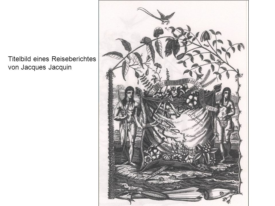 Titelbild eines Reiseberichtes von Jacques Jacquin