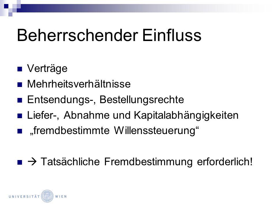 Konzern und Satzung Grds.