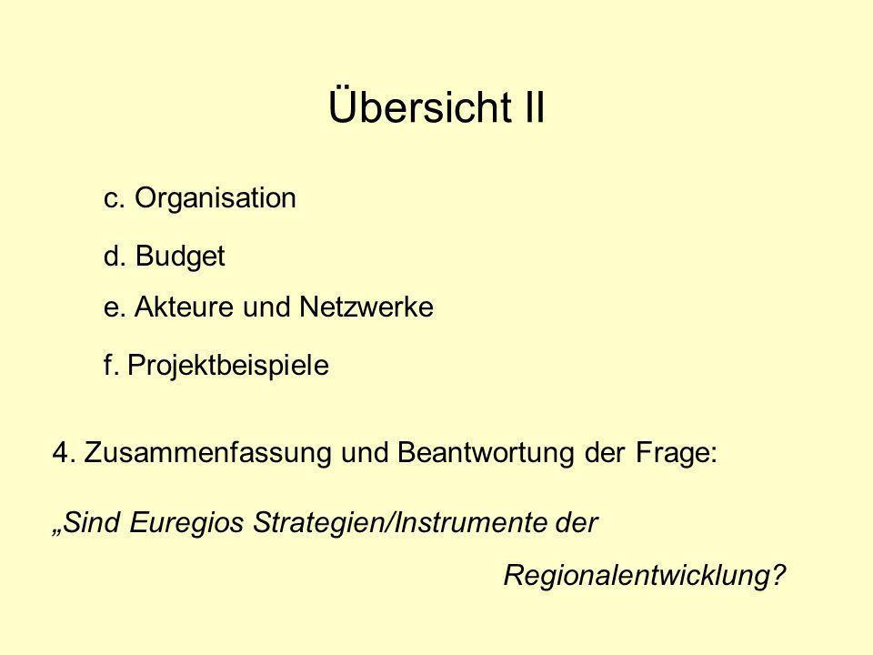 Regionen in Europa Zunehmende Regionalisierung in Europa: Regionalisierung über Staatsgrenzen hinweg 1.