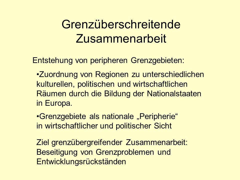 Allgemeine Information Euregio Maas- Rhein Euregio Egrensis EuRegio Salzburg – Berchtesg.