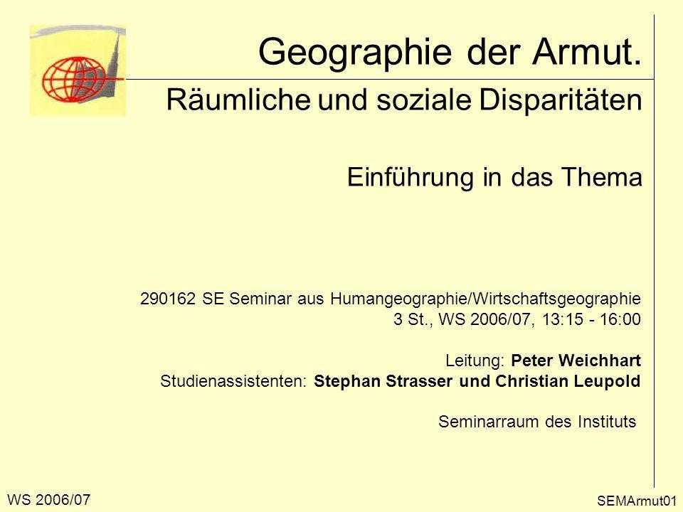 Das Ende der Geographie.